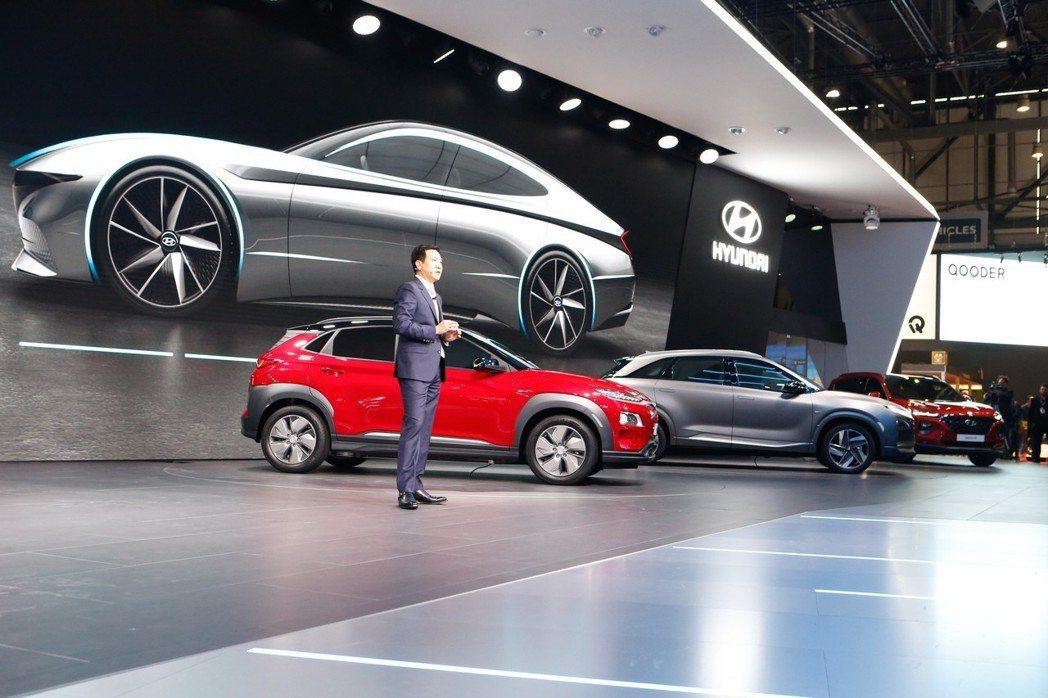 Hyundai在這次日內瓦車展中,可說是有備而來。 摘自Hyundai
