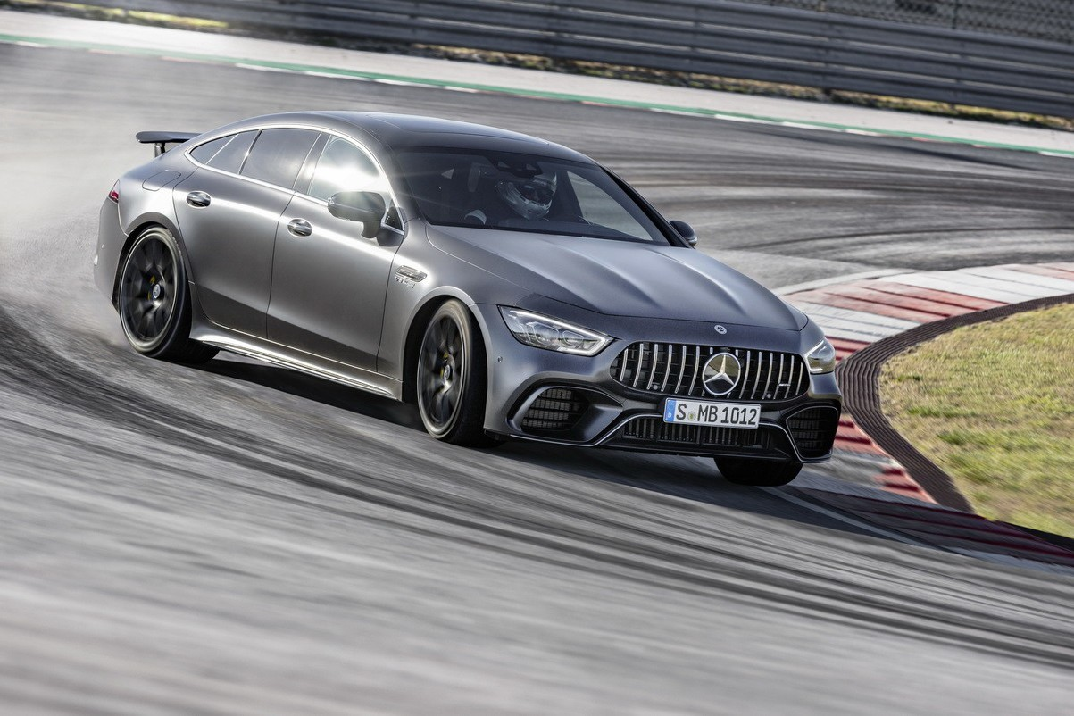 影/7分25秒41!Mercedes-AMG GT 63 S刷新紐柏林量產4門轎車單圈計錄