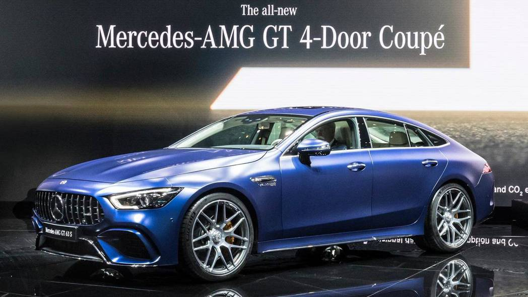 Mercedes-AMG GT 4-Door Coupé。 摘自Motor1