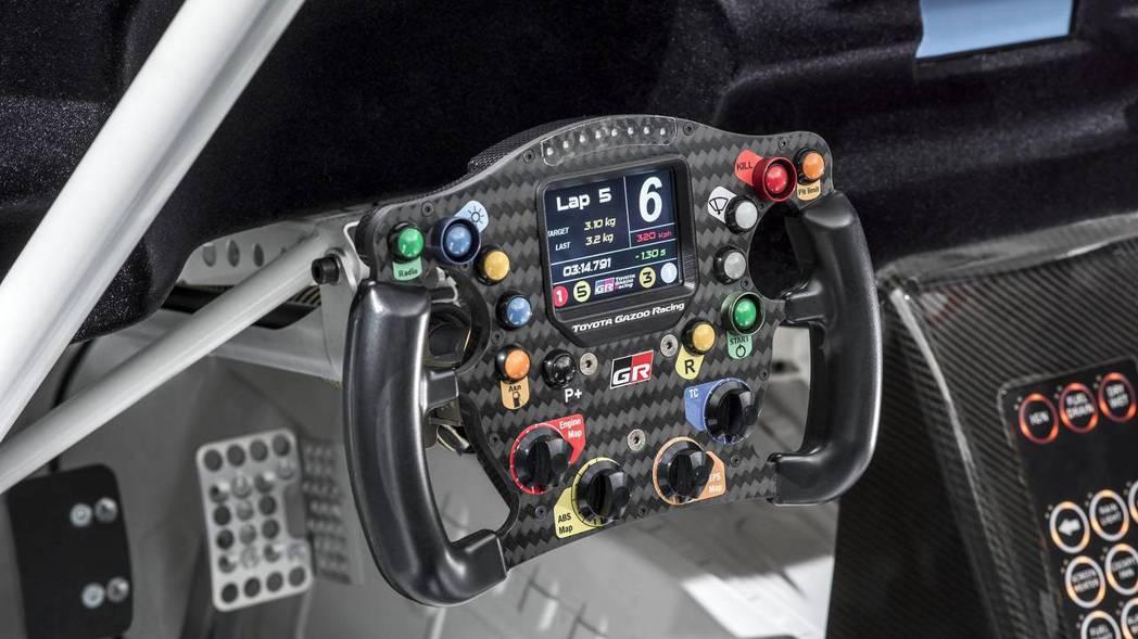 OMP的賽車快拆方向盤。 摘自Toyota