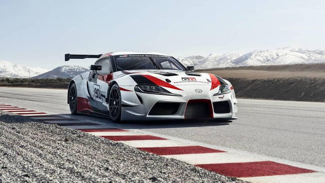 GR Supra Racing Concept。 摘自Toyota