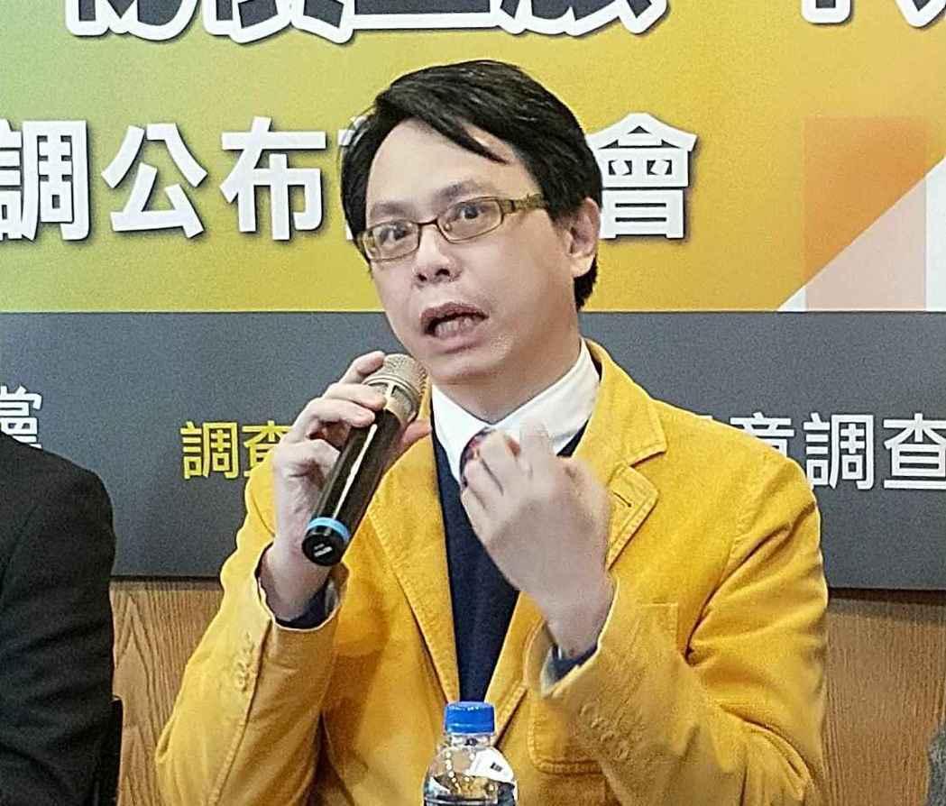 台灣電動商用車聯盟理事長陳仁達。 致公黨/提供