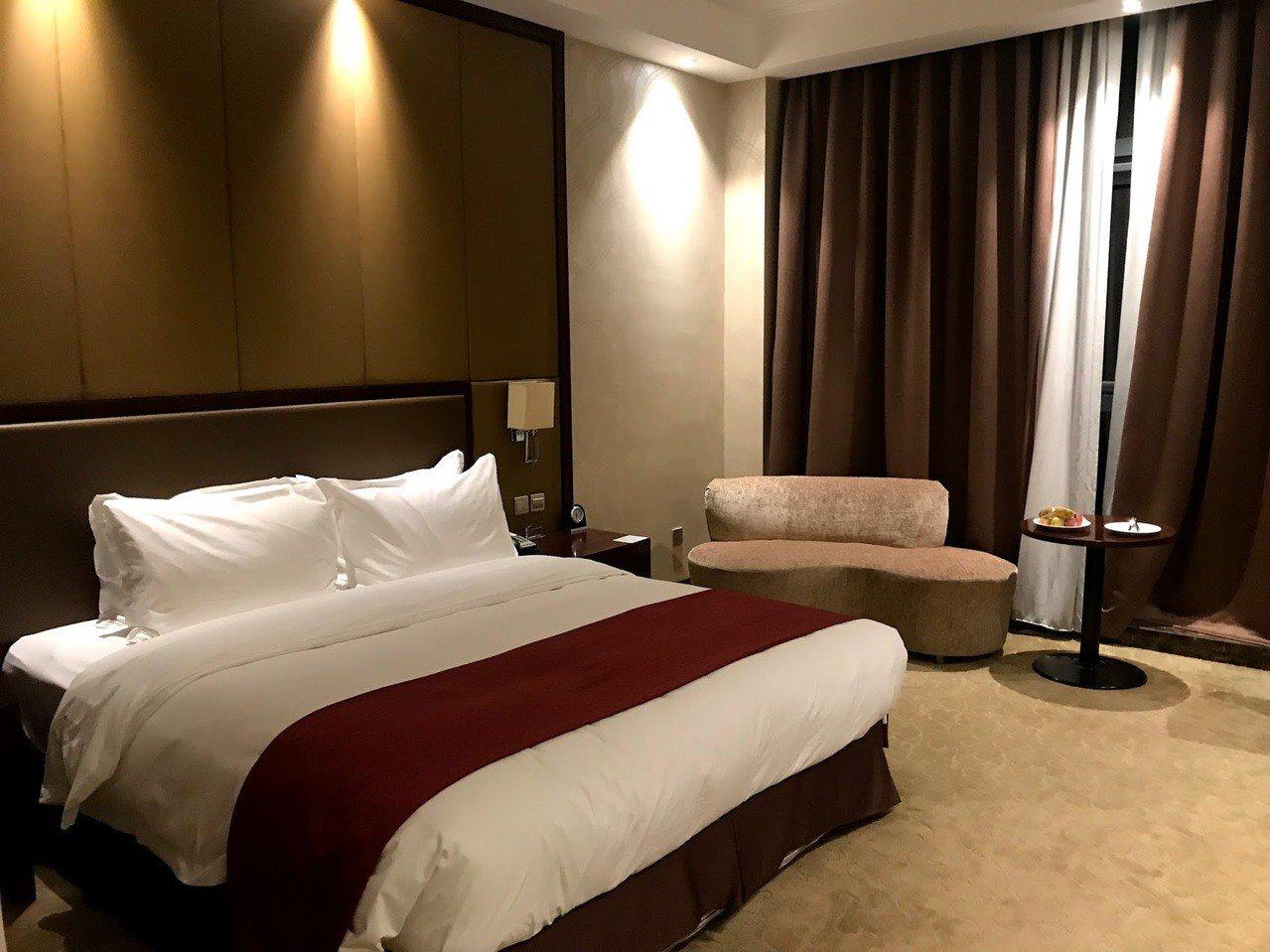 北京機場假日酒店的房間。圖文來自於:TripPlus