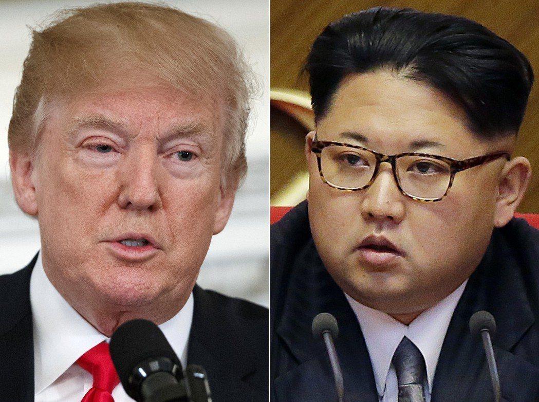 川普同意與北韓領導人金正恩會面,但外界對金正恩的意圖還是抱持存疑。  美聯社
