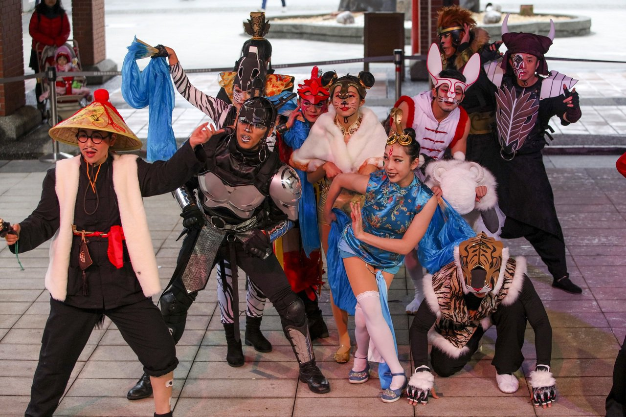傳藝宜蘭園區今天發表年度駐園大戲,12生肖時來運轉。圖/全聯善美的基金會提供
