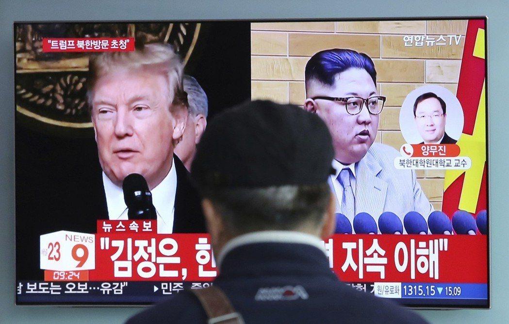 美國總統川普同意在5月底前,和北韓最高領導人金正恩會晤,討論朝鮮半島去核化議題。...