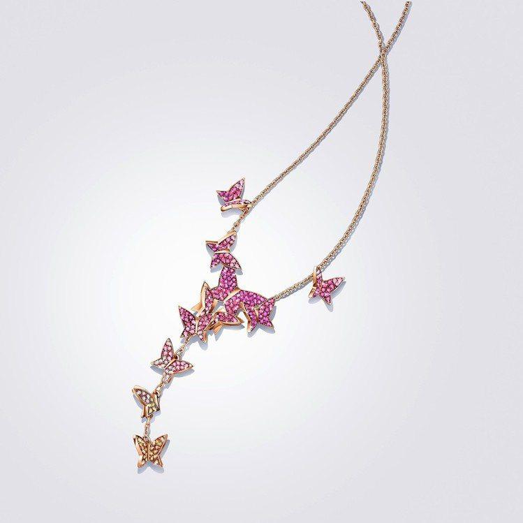 施華洛世奇 Lilia 項鍊,6,490元。 圖/施華洛世奇提供