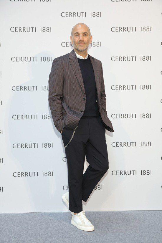CERRUTI 1881首席創意總監Jason Basmajian首度來台,參與...