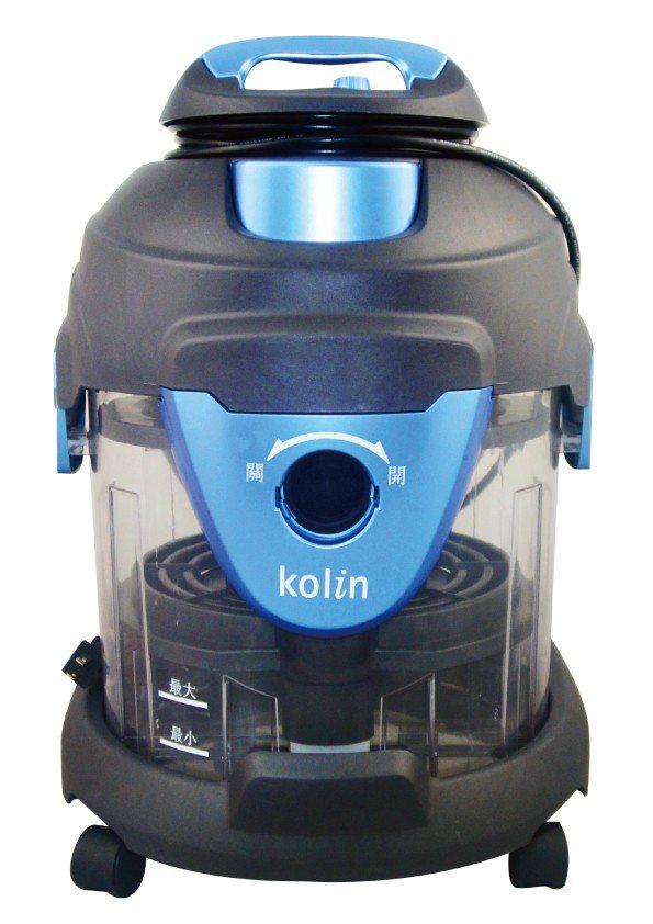 歌林最新推出的水過濾吸塵器KTC-A1202WA,建議售價4,980元,展場特價...