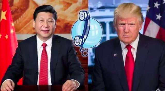 中共國家主席習近平9日應約同美國總統川普通電話。中國青年網