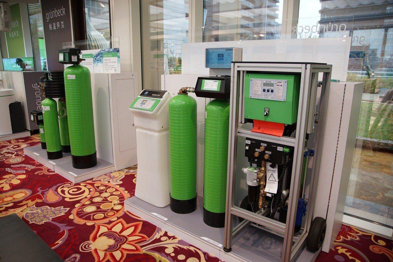 世磊集團引進德國格溫拜克全屋淨水設備,提供全系列三年保固。(圖:世磊提供)