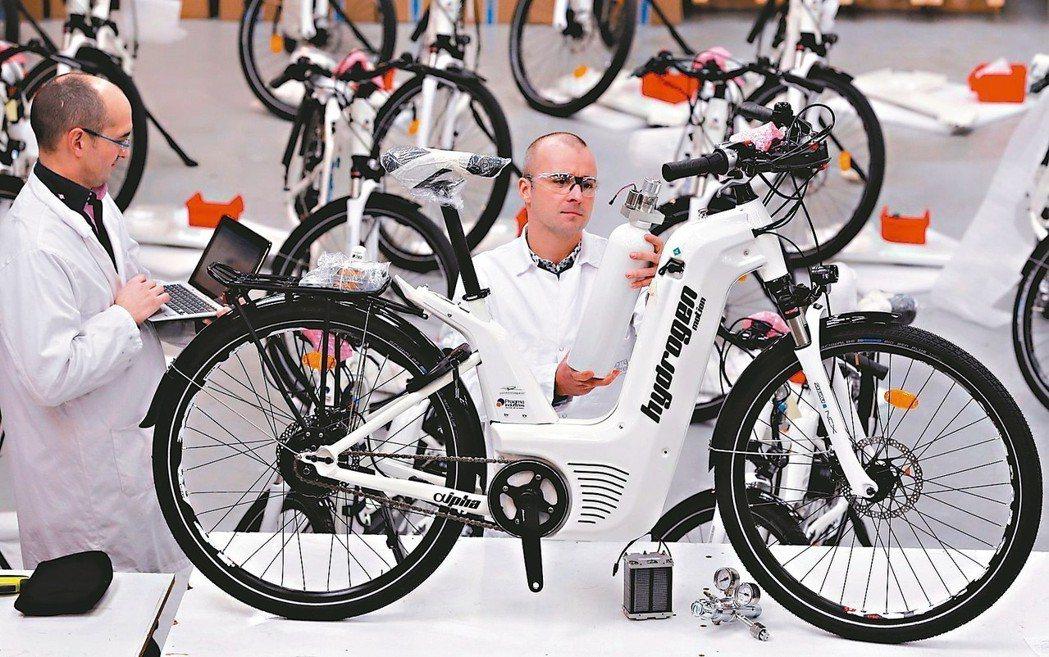法國新創公司Pragma Industries成為首家量產「氫動力單車」的企業,...