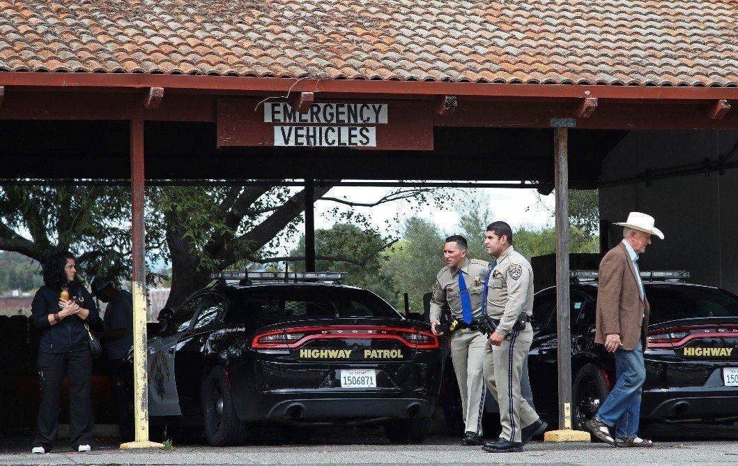 加州退伍軍人之家驚傳槍案。美聯社