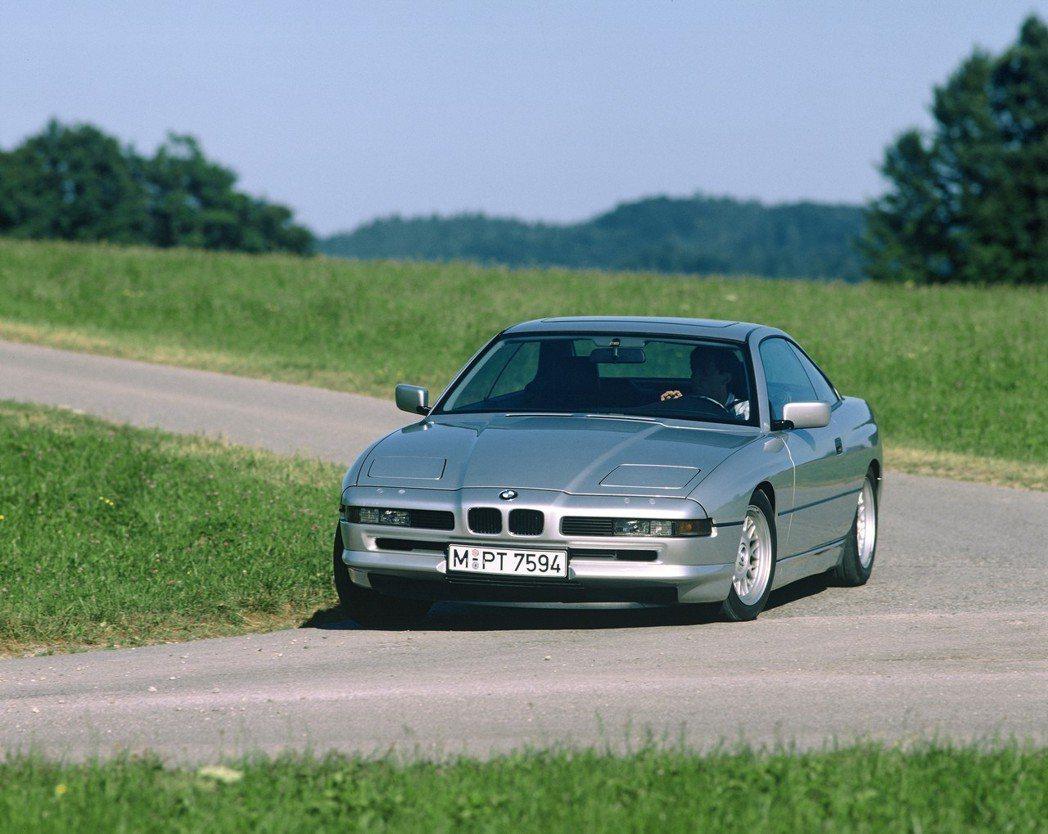 圖為初代BMW 8 Series(E31)。 摘自BMW