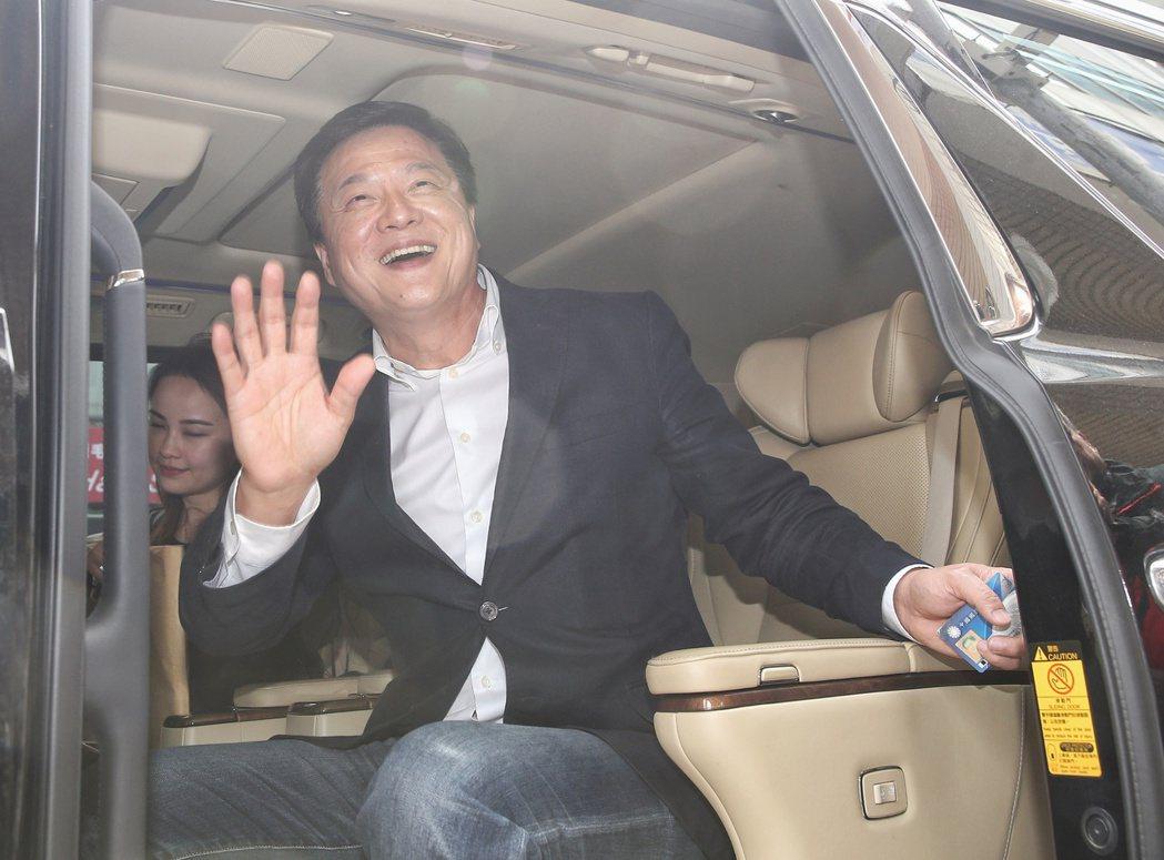 周錫瑋參加新北市長黨內初選,強調自己「一生正藍」。 圖/聯合報系資料照片