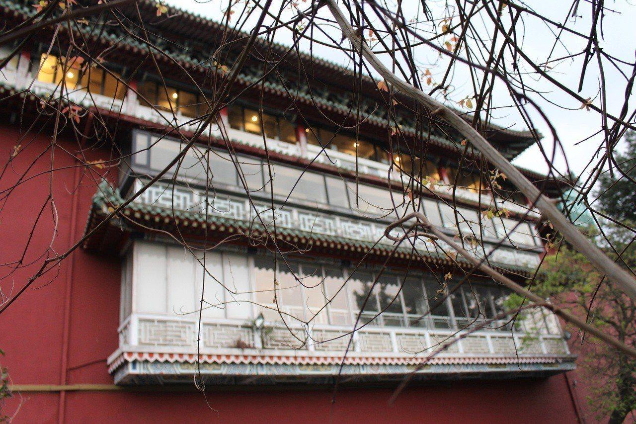 史博館的紅牆綠瓦是台北的重要一景。記者陳宛茜/攝影