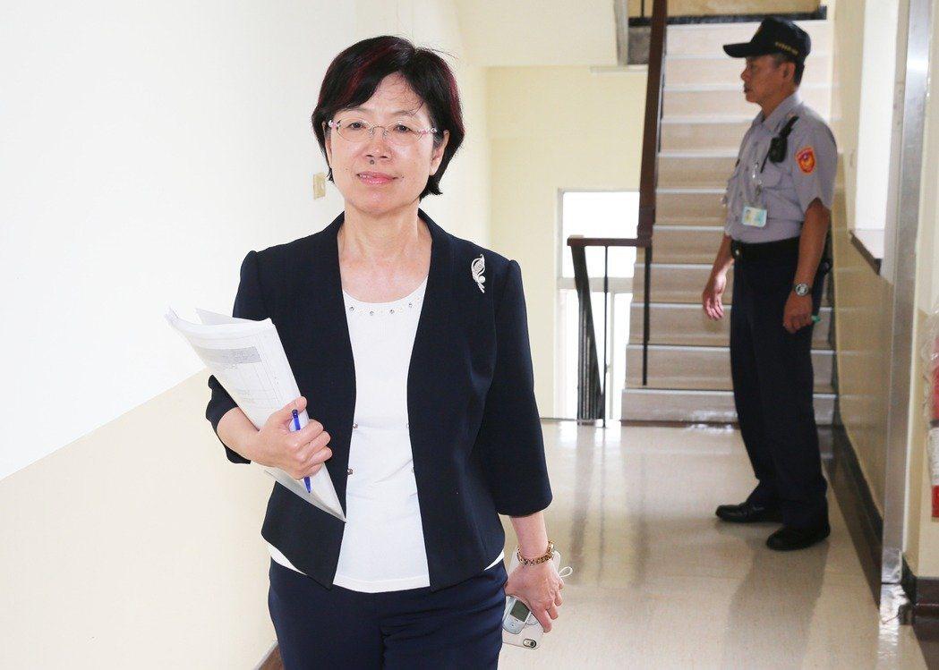 民進黨立委尤美女追政治檔案法進度,國發會回應2/27已報行政院處理。報系資料照