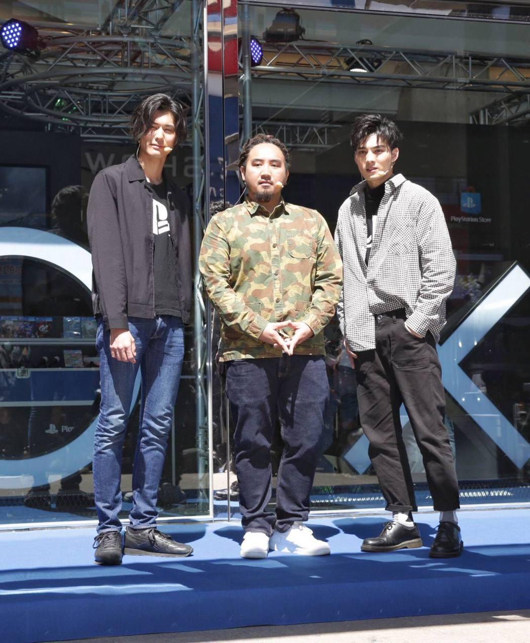 (左起)SpeXial風田、音樂鬼才MATZKA、SpeXial偉晉為全台第一間...
