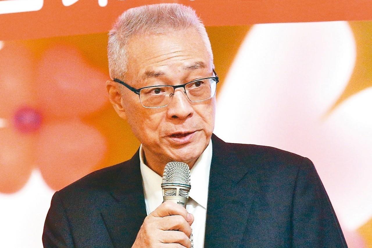 中國國民黨黨主席吳敦義。 圖/聯合報系資料照片