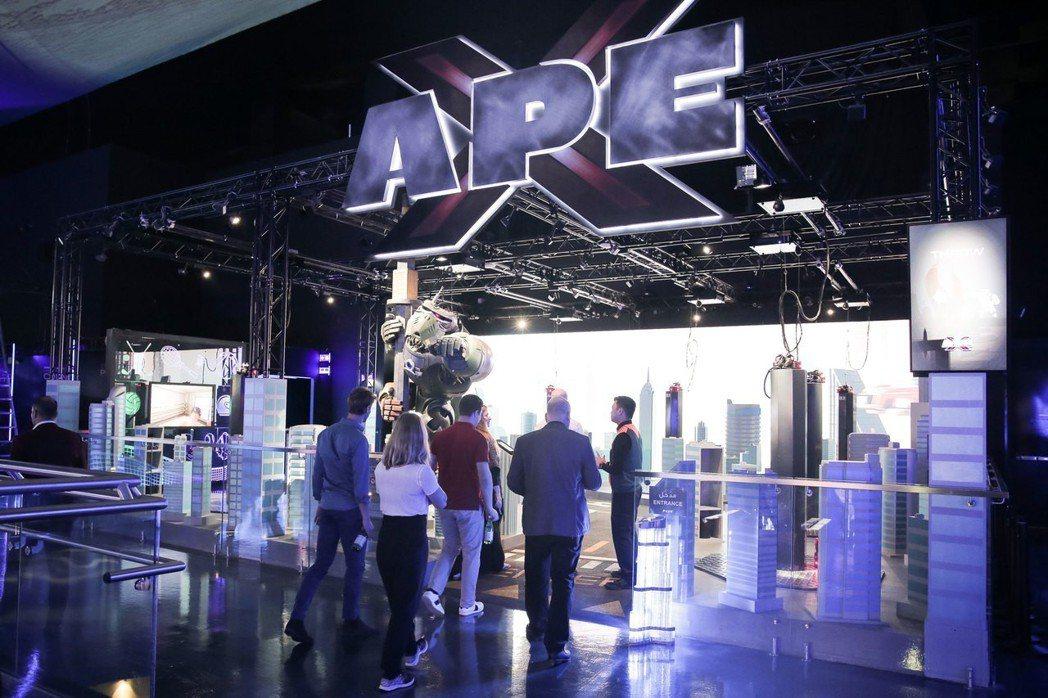 宏碁旗下小金雞-StarVR(宏星技術)在杜拜打造全球最大室內VR主題樂園。 S...