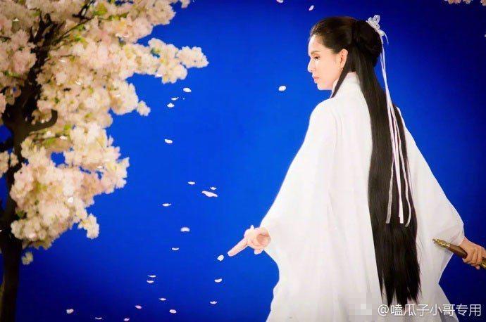 23年後李若彤再扮小龍女。圖/摘自微博