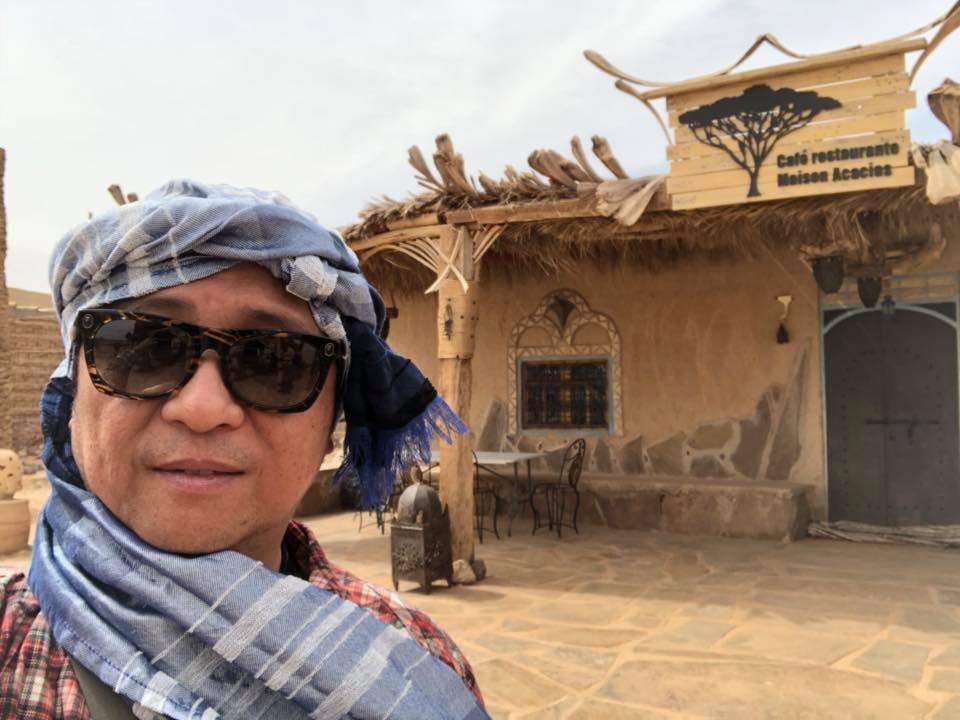 台竣公司創辦人陳怡仁投入綠能事業10年,近日趁前往北非的摩洛哥旅遊之便,體驗了摩...