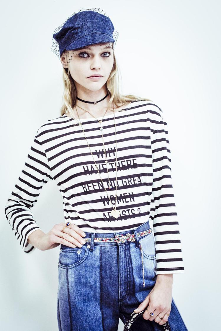 Dior將Linda Nochlin在七○年代發表的同名論文「為何不見偉大的女性...