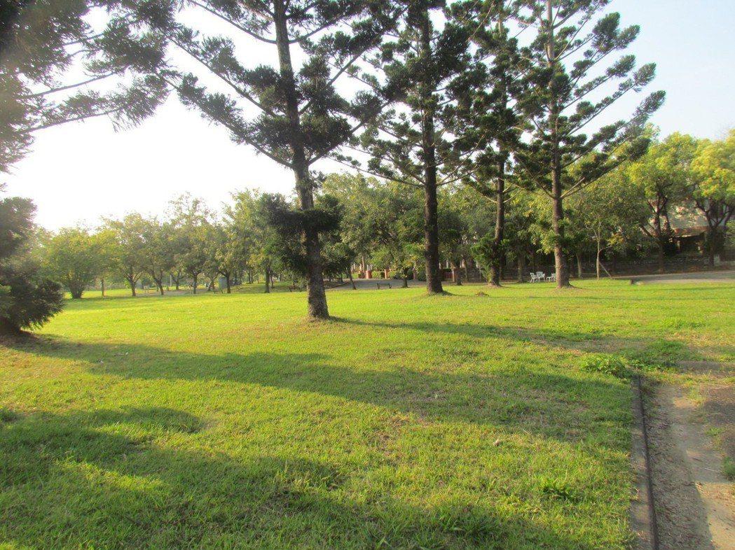 中興新村到處綠草如茵,有很理想的居住環境。記者張家樂/攝影