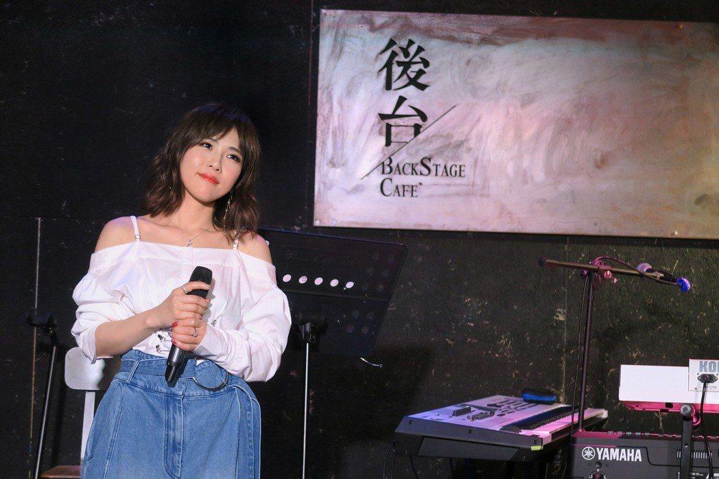 吳申梅10日首度舉辦個人演唱會。圖/好莉嗨提供