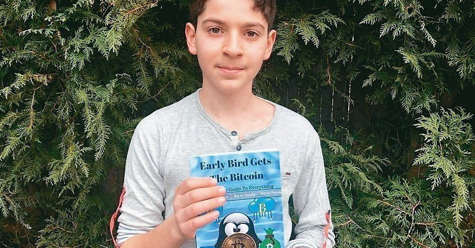 美國麻州6年級學生柯瑞(Andrew Courey) 取自CNBC網站