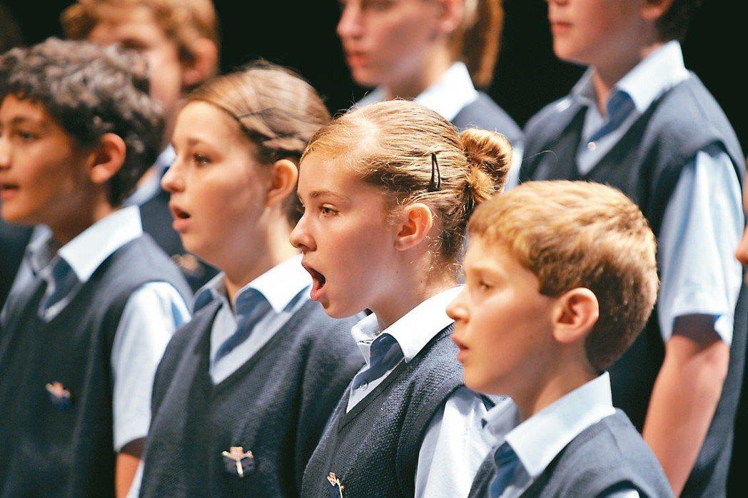 《放牛班的春天》電影原唱—法國聖馬克兒童合唱團今年五月將再度訪台巡演。 圖/傳大...