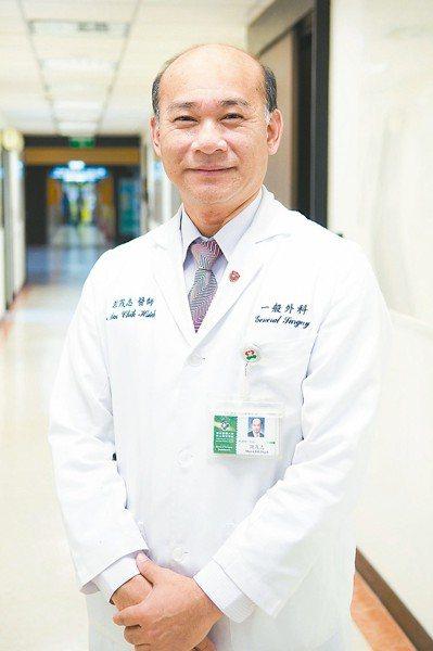 萬芳醫院副院長謝茂志行醫多年,治療超過千名癌症病患。 圖/萬芳醫院提供