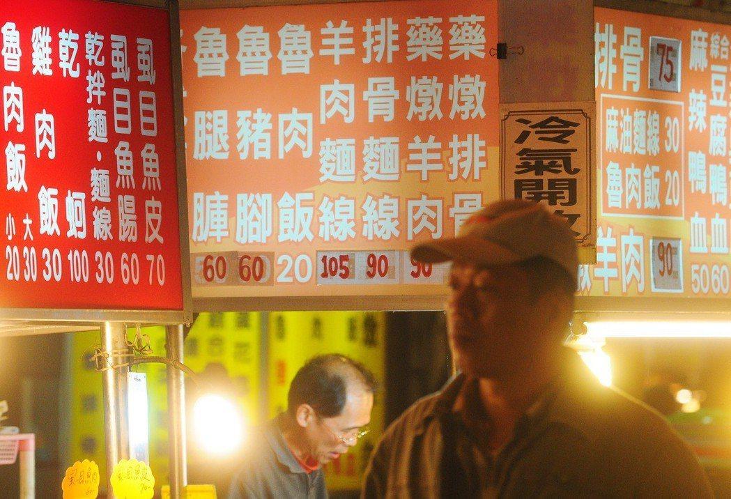 昂貴的物價讓消費者吃不消。本報資料照/記者王騰毅攝影