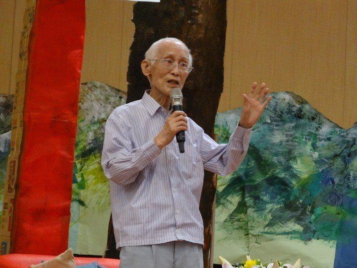 詩人余光中辭世,未獲總統頒發褒揚令。 聯合報系資料照片/記者魯永明攝影