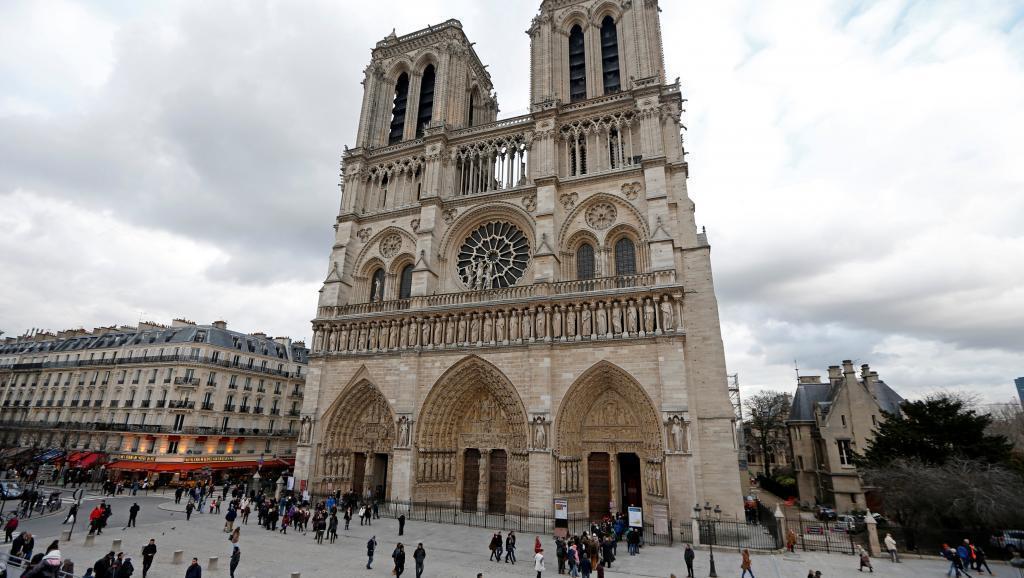 每年有上千萬名遊客造訪巴黎聖母院。 (路透)