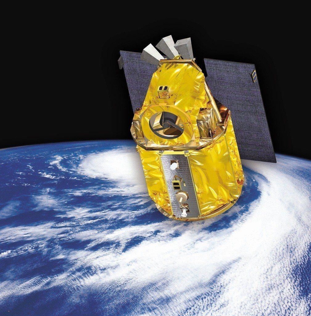 福衛五號衛星。 圖/太空中心提供