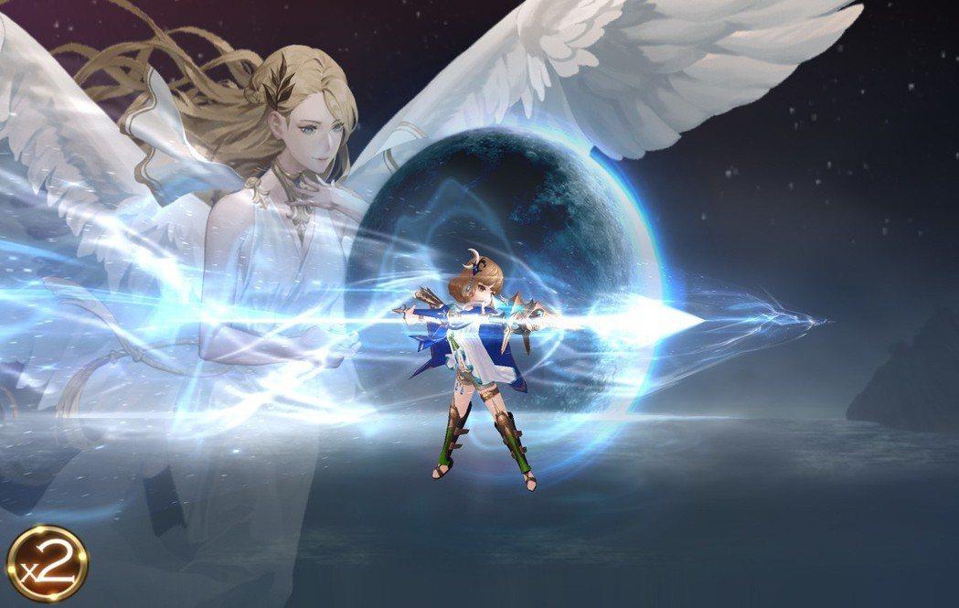 阿塔蘭塔覺醒技能「月光之魂」。