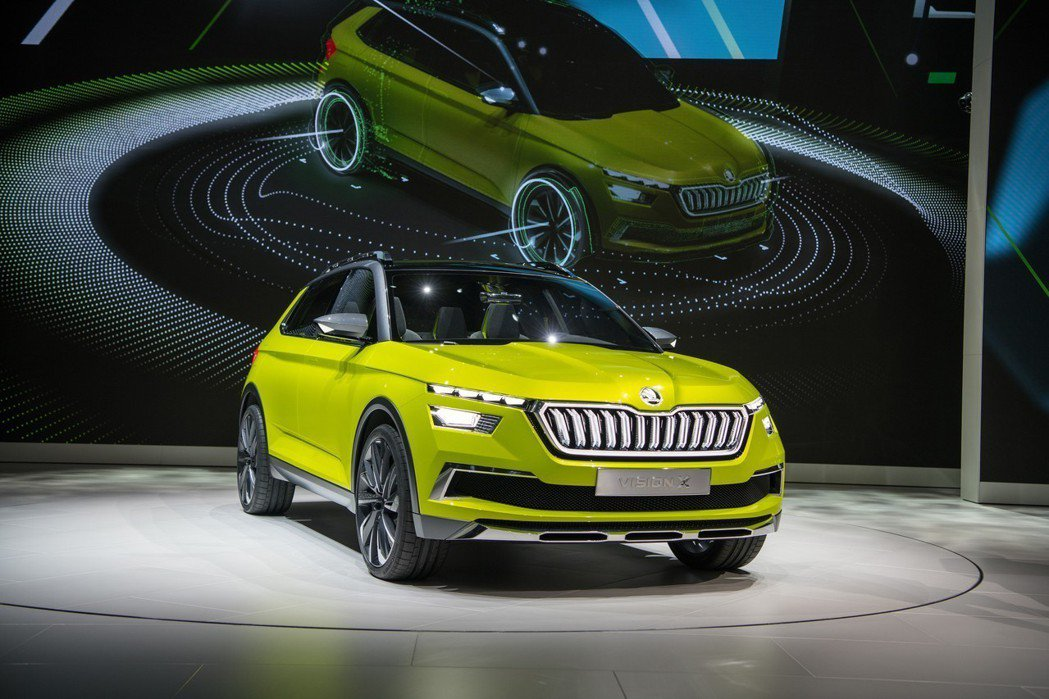 ŠKODA Vision X Concept確定化概念為現實,量產版車型即將在三...