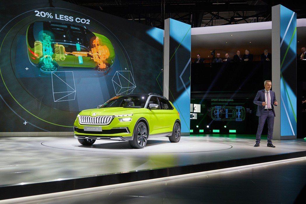 ŠKODA Vision X Concept為ŠKODA車系史上首款結合CNG的...