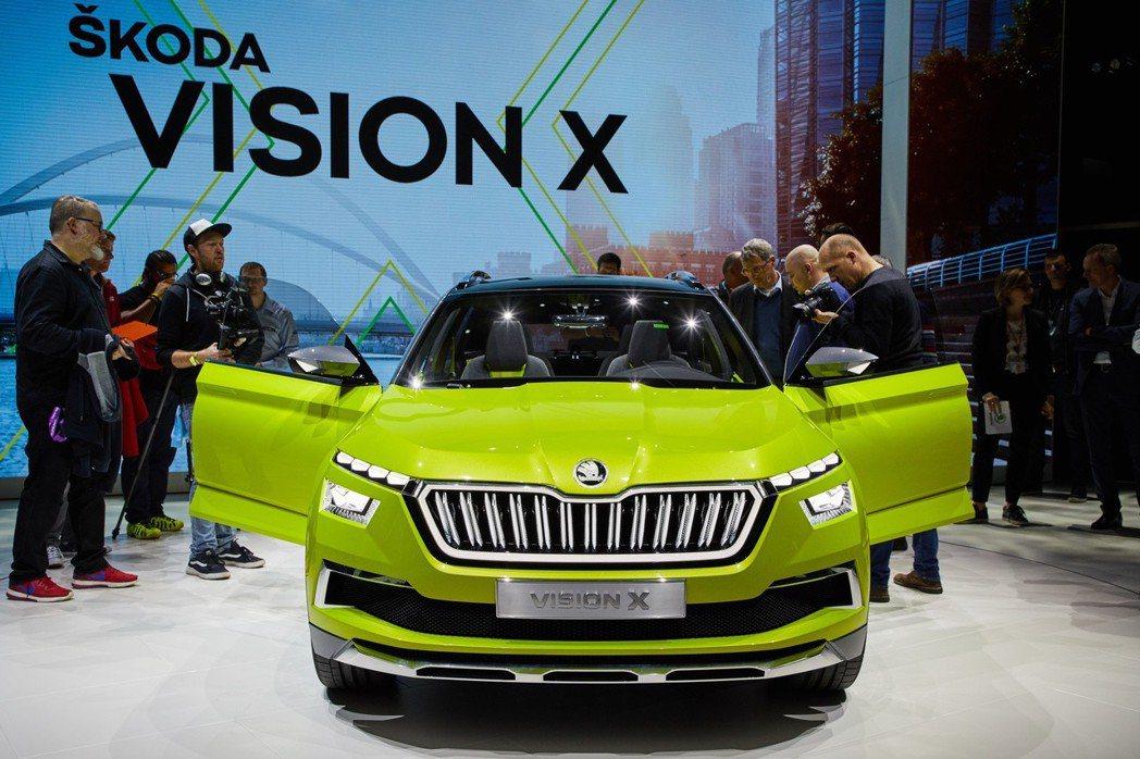 Vision X擁有650km的最大續航距離。 摘自ŠKODA