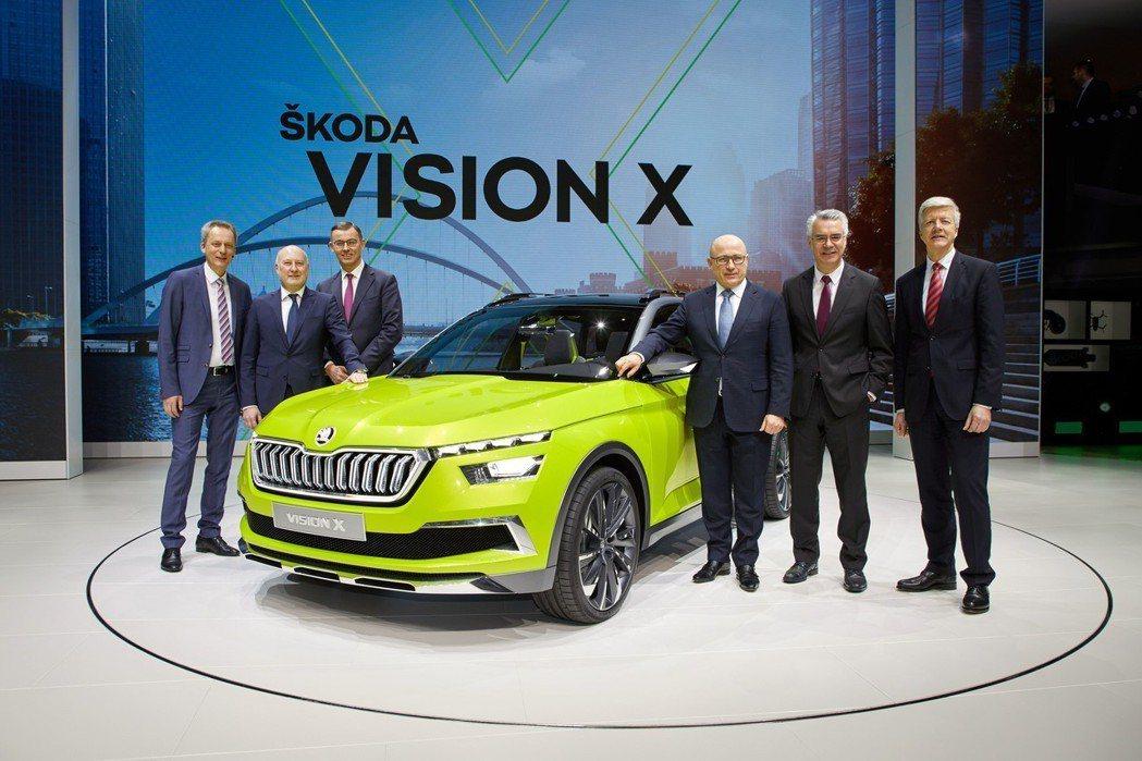 ŠKODA證實Vision X未來將會量產上市。 摘自ŠKODA