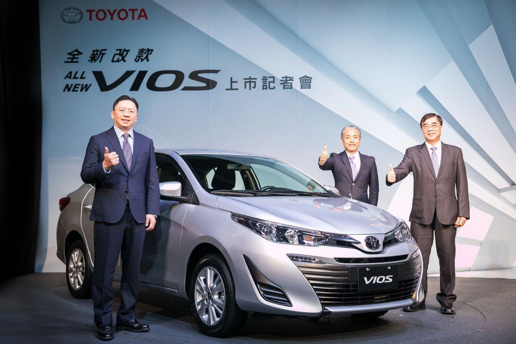 All New Vios全車系升級標配VSC、TRC及HAC,搭配ABS、EBD...