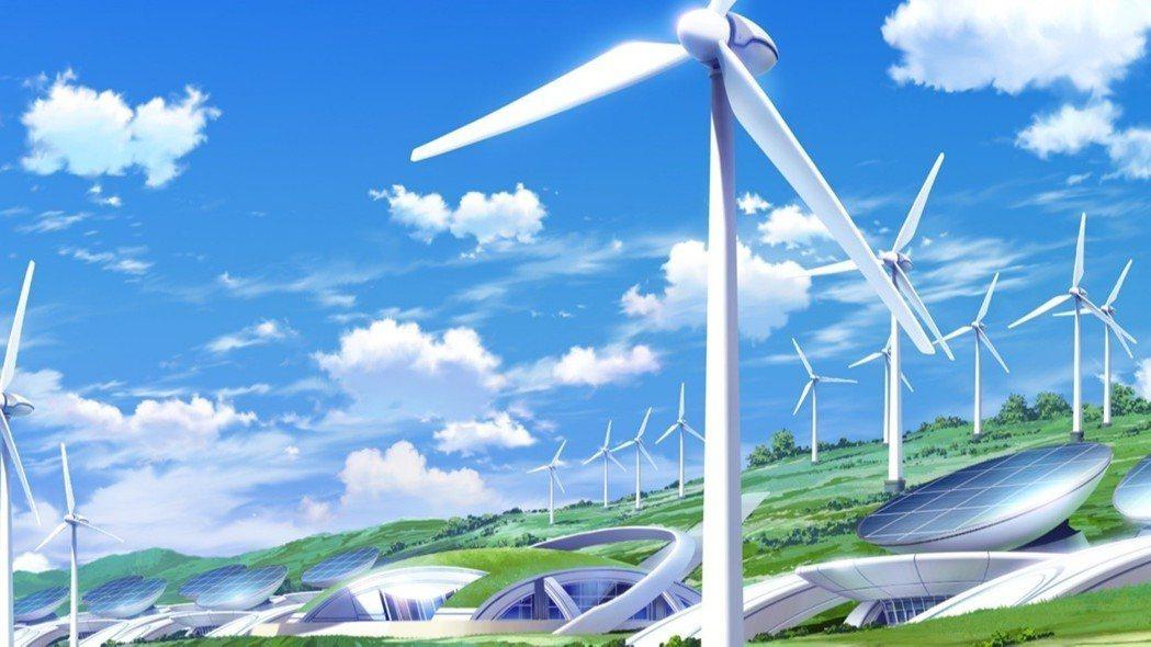 ▲未來科技感十足的「風之山丘」