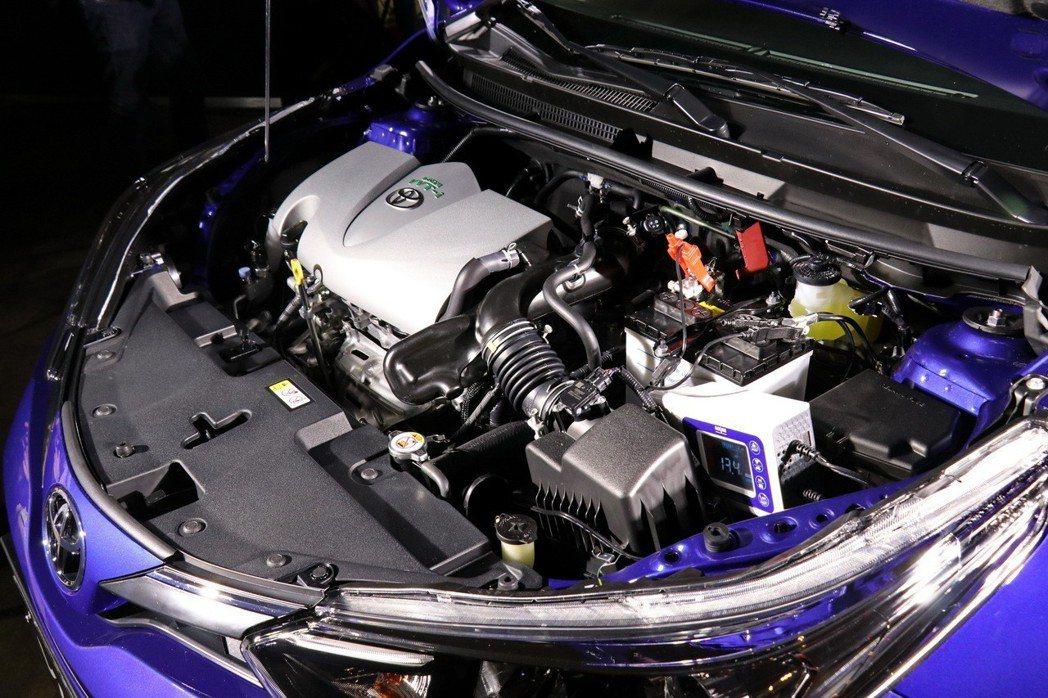 動力部分維持1.5升直列四缸自然進氣引擎。 記者陳威任/攝影