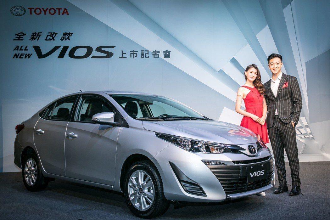 TOYOTA VIOS有感升級,挑戰年販1萬台目標。 圖/和泰汽車提供