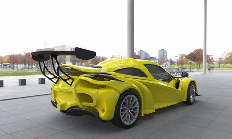 Sin S1或許是2018日內瓦車展最醜?性能卻非常嚇人