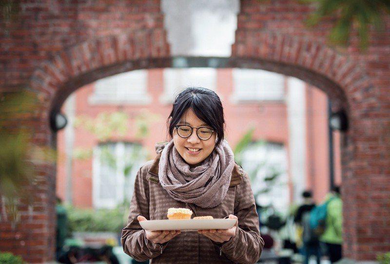 黃尹宣以格外品作為製作甜點的主要材料,是挑戰也是堅持。