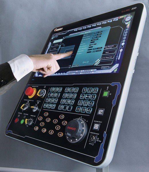 工具機最關鍵的控制器,掌握所有的技術支援,猶如人的大腦。 (程泰機械提供)