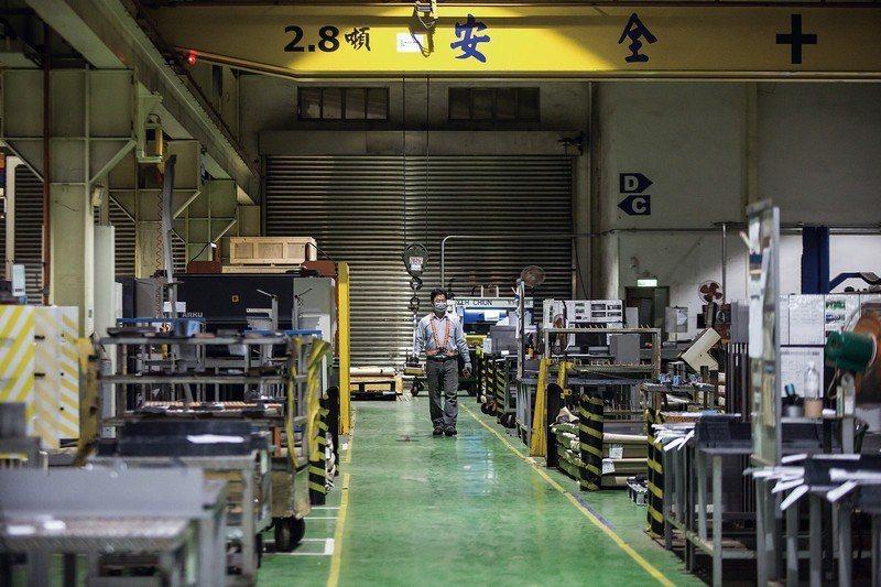 台灣工具機產業佔全球出口排名第5名,具高度競爭力。 (林旻萱攝)