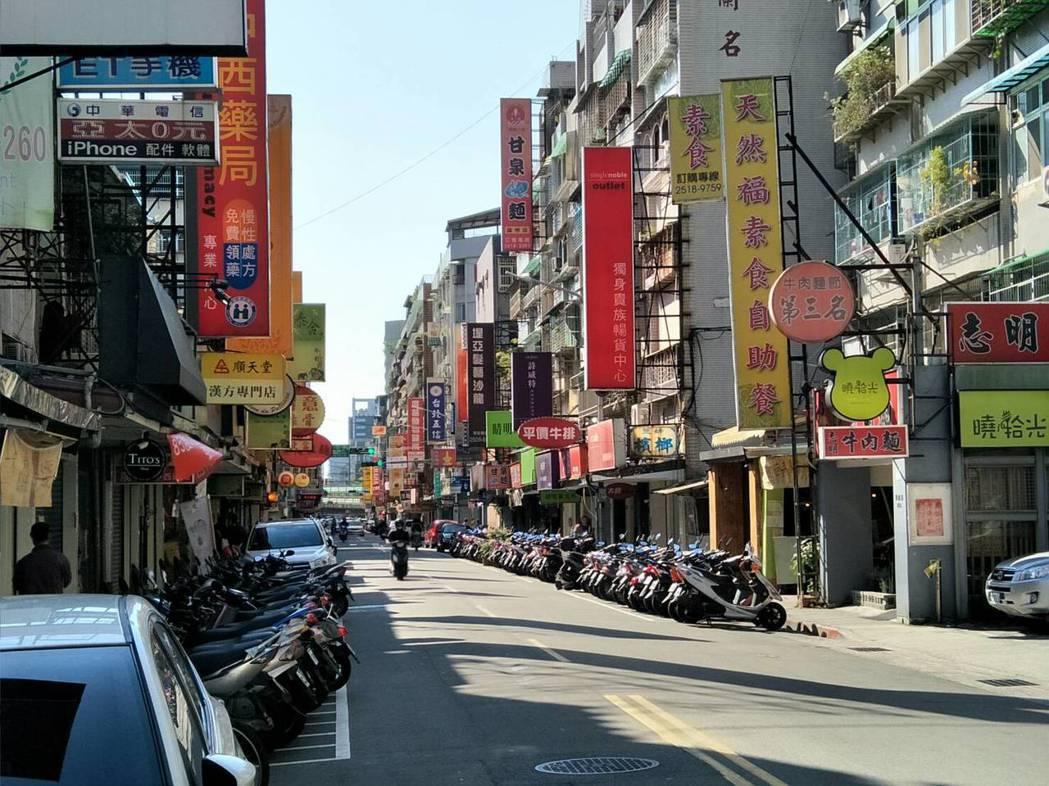 錦州街街景。 記者游智文/攝影